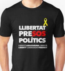 LLIBERTAT PRISONERS POLITICS - (BLANC) Unisex T-Shirt