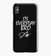 jake paul its everyday bro iPhone Case/Skin