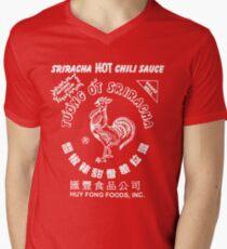 Sriracha T-shirt Men's V-Neck T-Shirt
