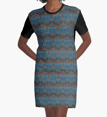 Wise Owl Graphic T-Shirt Dress