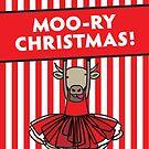 Moo-ry Christmas by samedog