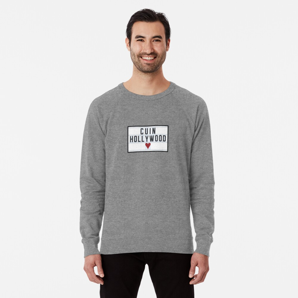CUIN HOLLYWOOD Lightweight Sweatshirt Front