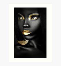 AFRIKANISCHE KÖNIGIN Kunstdruck