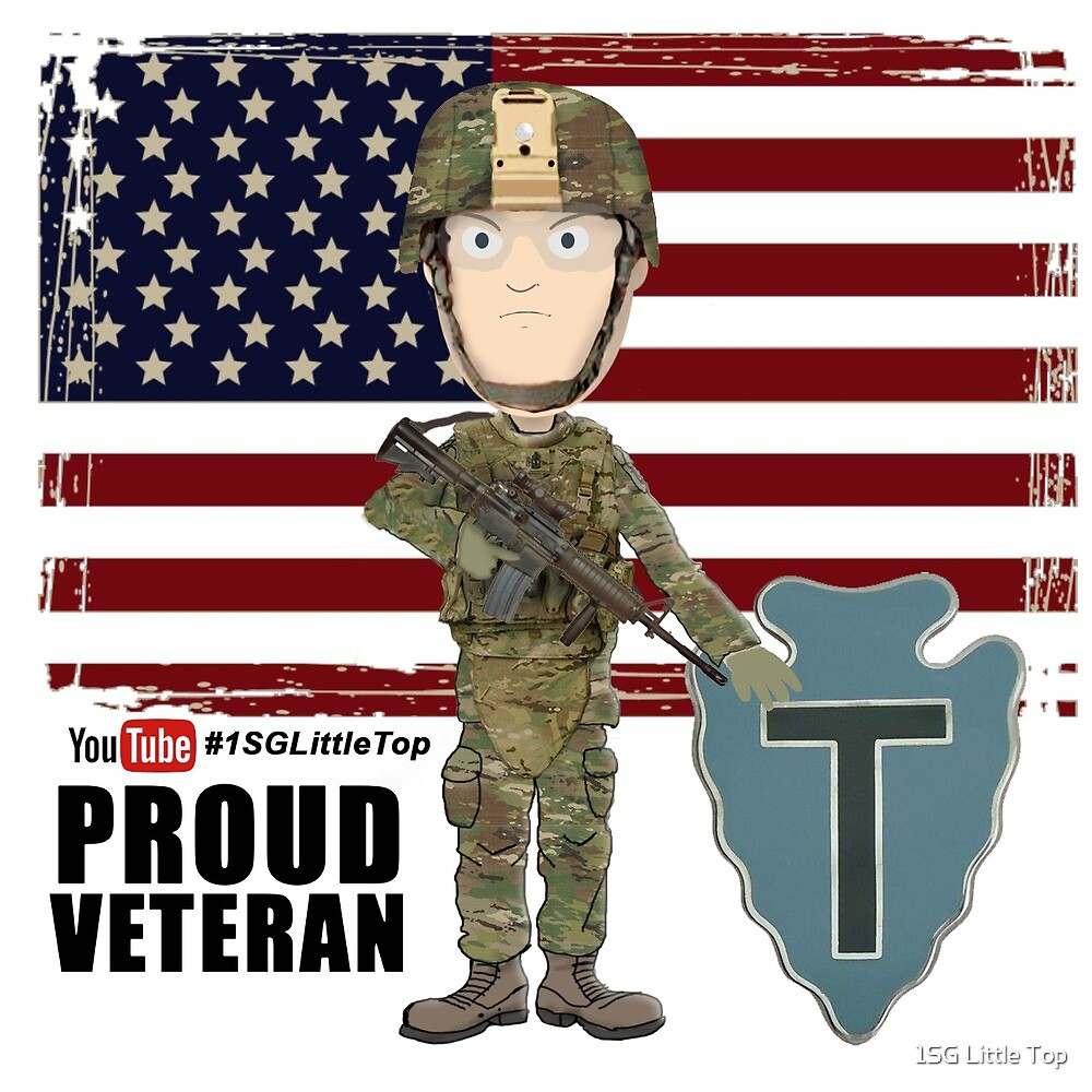 Proud Veteran- 36th ID by 1SG Little Top