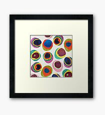 Rainbow Resin Framed Print