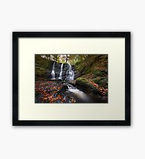 Glenariff Waterfall  / County Antrim /  Northern Ireland Framed Print