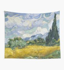 Van Gogh, Wheat Field with Cypresses 1889 Wall Tapestry