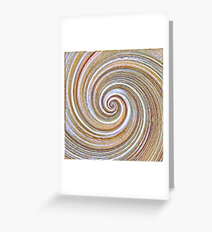 A close up of a cake on Fibonacci table Greeting Card