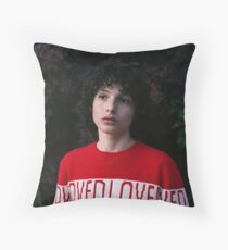 Finn Wolfhard Throw Pillow