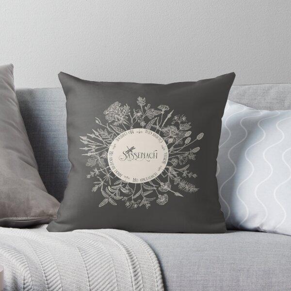 Sassenach Throw Pillow