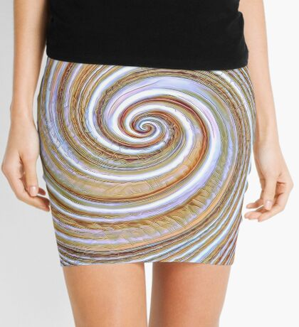 A close up of a cake on Fibonacci table Mini Skirt