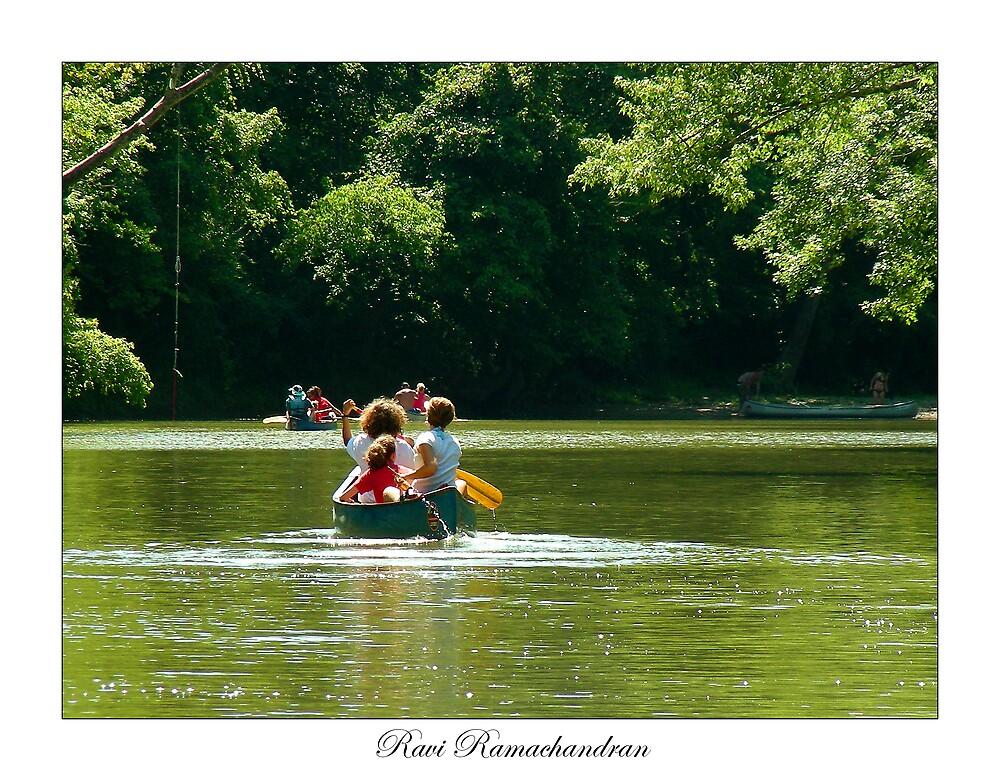 Canoeing by thedigitaldoc