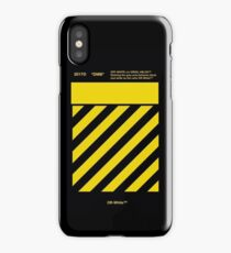 Off White Yellow iPhone Case/Skin