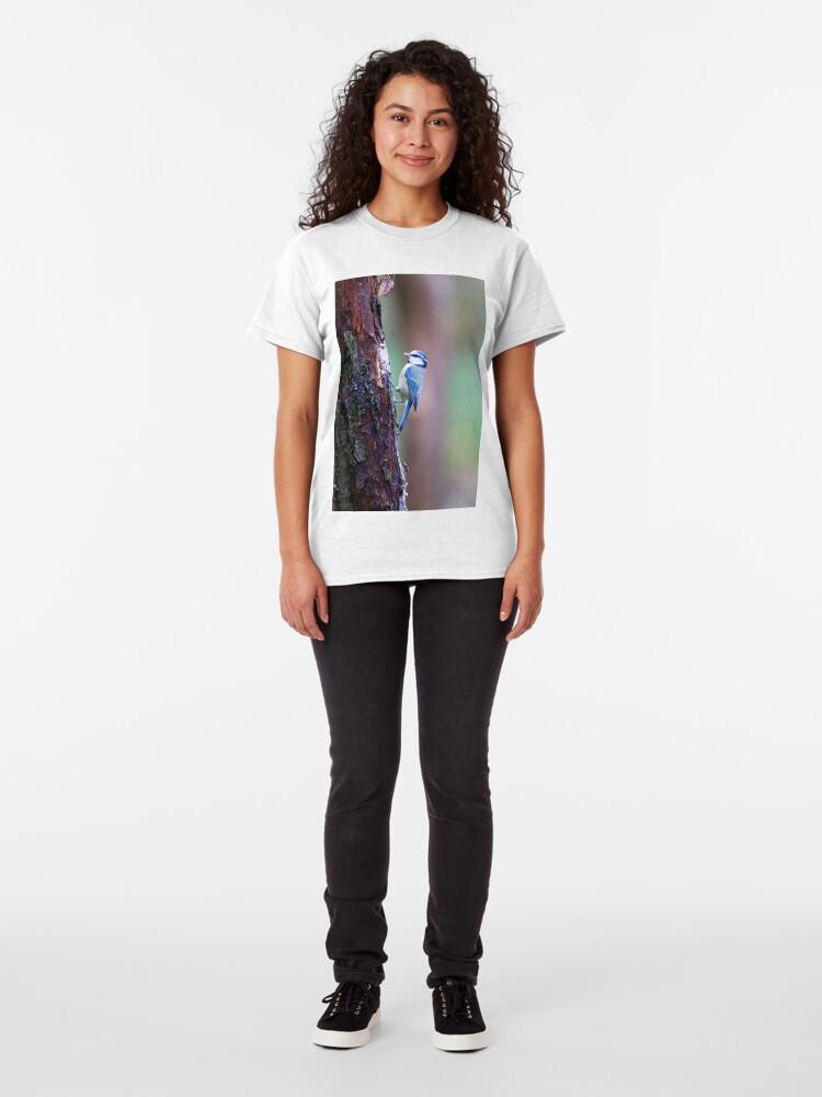 Alternate view of Blue Tit (Cyanistes caeruleus) Classic T-Shirt