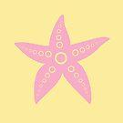 Pink Sea Star by ragerabbit