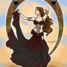 Capricorn bellydancer by Anna R. Carrino