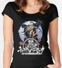 Space Pirate 03 Women's Fitted Scoop T-Shirt
