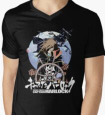 Space Pirate 03 Men's V-Neck T-Shirt
