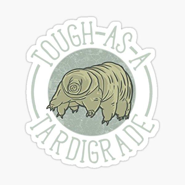 Funny Science Shirt Gift- Tardigrade Biology for Women Men Sticker