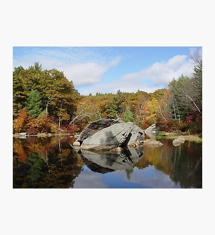 Rock House Reservation Photographic Print