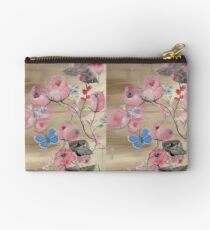 Roses,original oilpainting, handmade by DiensDesign Studio Pouch