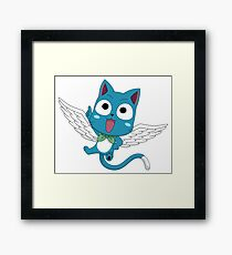 Fairy Tail Happy Framed Print