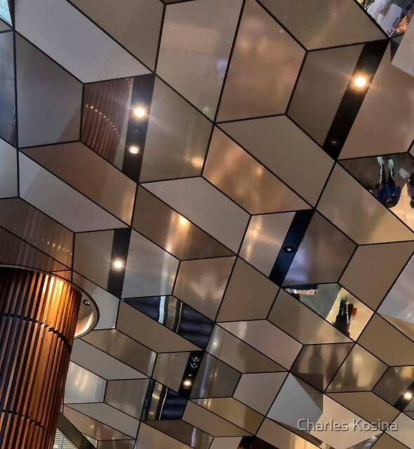 Ceiling Abstract by Charles Kosina