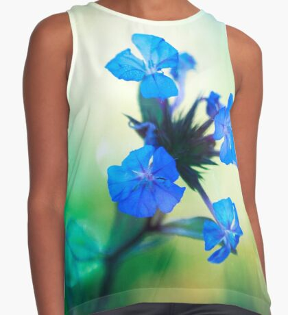 Tangled up in Blue Contrast Tank