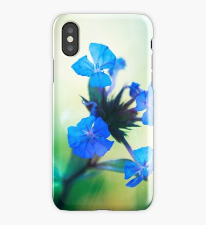 Tangled up in Blue iPhone Case