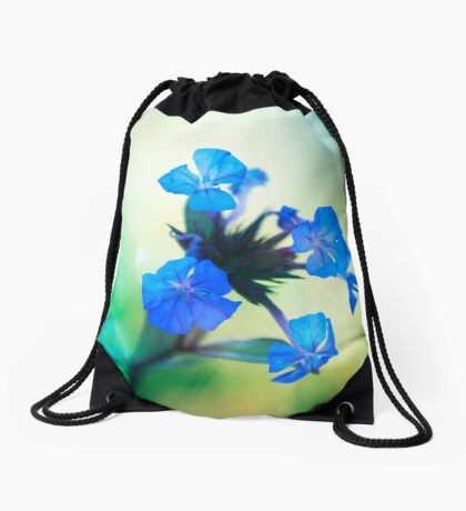 Tangled up in Blue Drawstring Bag