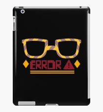 707 ERROR iPad Case/Skin