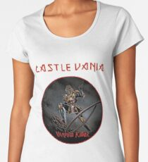 CASTLEVANIA & IRON MAIDEN Women's Premium T-Shirt
