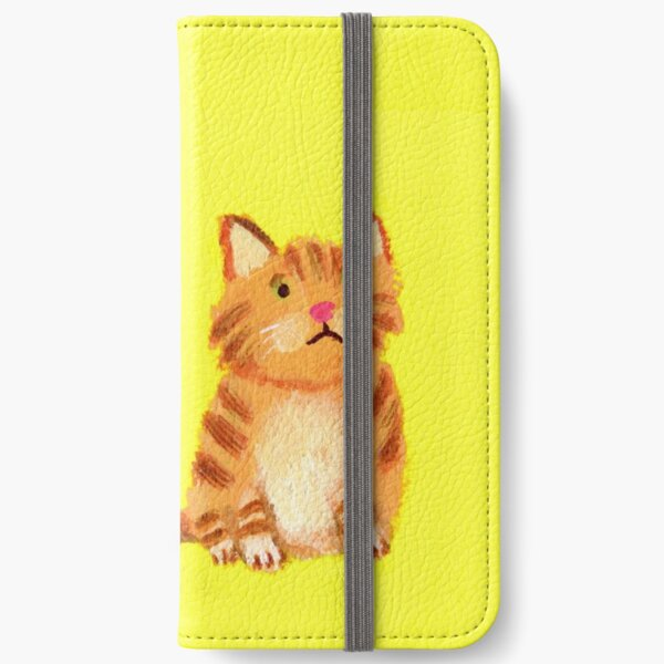 Ginger Cat iPhone Wallet