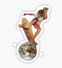SK8 @ EARTH Sticker
