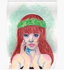 Pastel Girl Poster