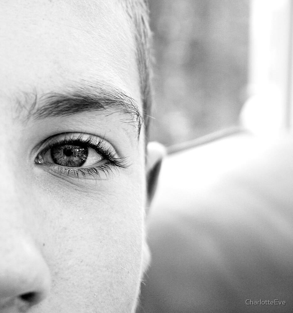 my brothers eye  by CharlotteEve