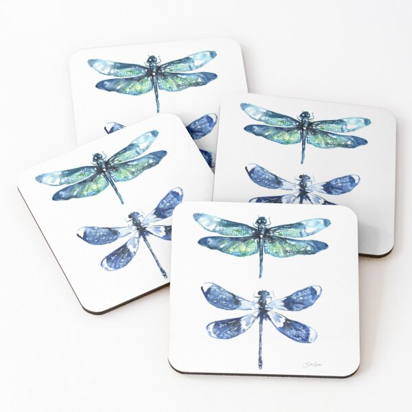 Dragonfly Wings Coasters (Set of 4)