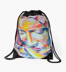 La Pieta inspirée de Michel-Ange Artpainting Drawstring Bag