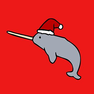 Christmas Narwhal by jezkemp