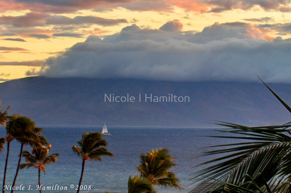 Clouds on the Mountain by Nicole I Hamilton