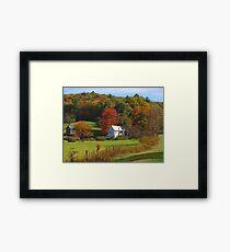 Farmstead Framed Print
