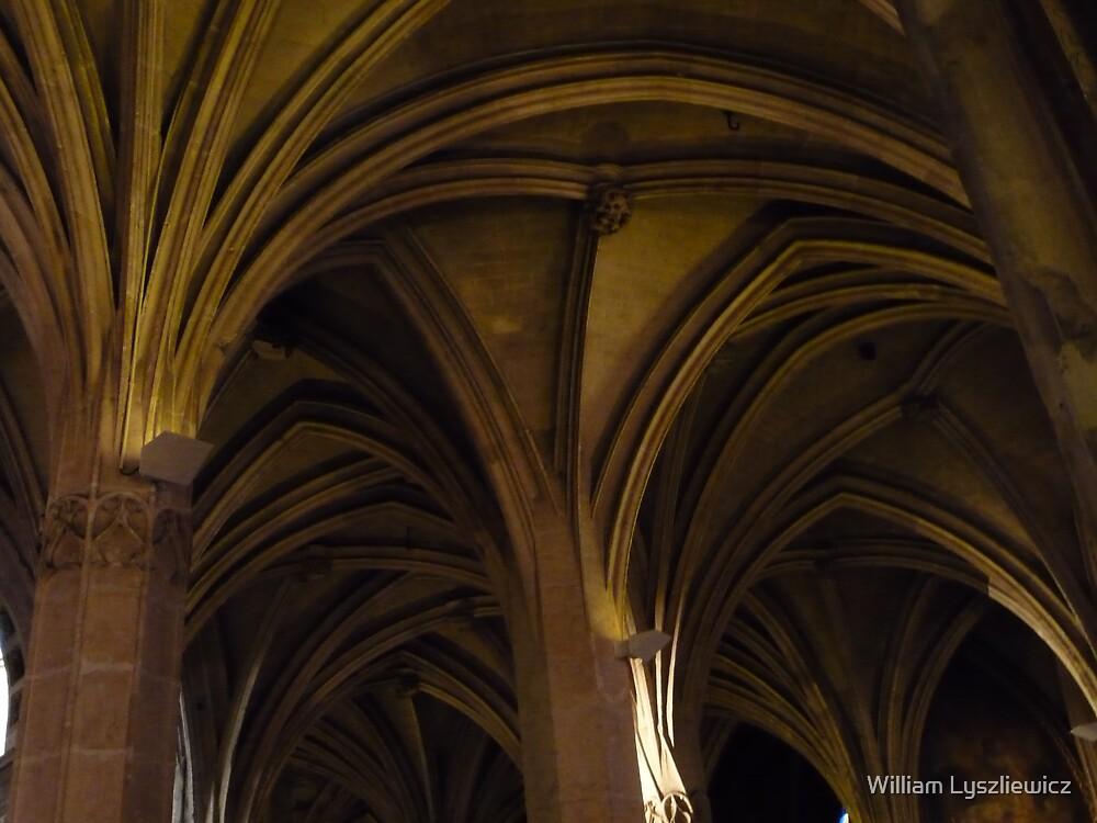 église St Germain l'Auxerrois. Paris by william lyszliewicz