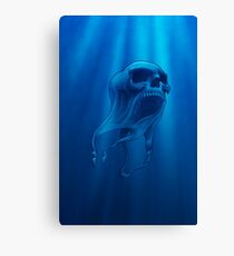 Floating Death Canvas Print