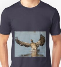 Comming into land! well water! Unisex T-Shirt