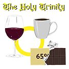 The holy trinity - wine, chocolate, coffee by Crowden