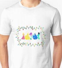 Christmas Princesses Inspired Silhouette Unisex T-Shirt