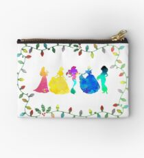Christmas Princesses Inspired Silhouette Studio Pouch
