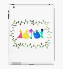 Christmas Princesses Inspired Silhouette iPad Case/Skin