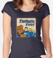The Fantastic Four Women's Fitted Scoop T-Shirt
