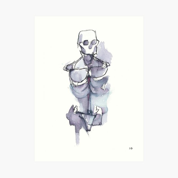 Bare Bones Art Print